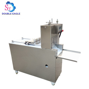 High quality commercial Full Automatic frozen pork/beef/mutton meat Slicing Cutting machine price