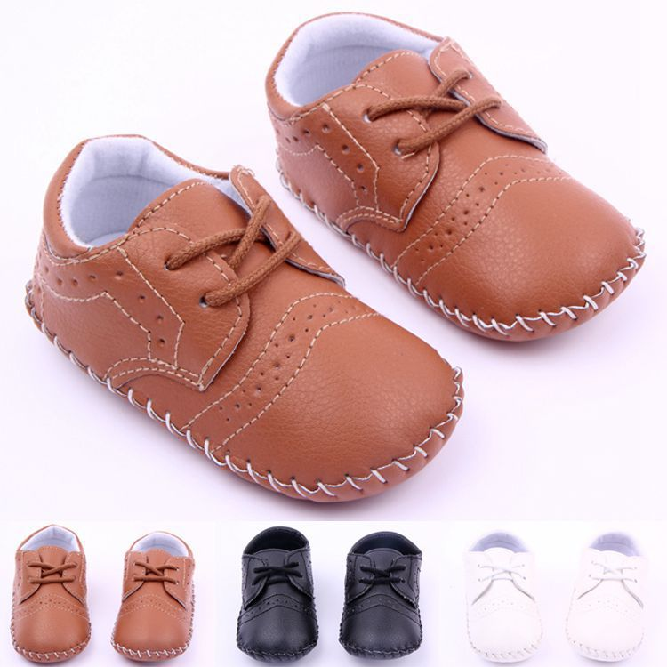 dac05d912ce5e Handmade crochet baby shoes Baby Moccasins Soft sneakers Newborn Baby  firstwalker Anti-slip Genuine Cow Leather Infant Shoes