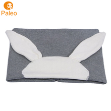 공장 OEM 면 gray bunny 제 baby <span class=keywords><strong>담요</strong></span> patterns