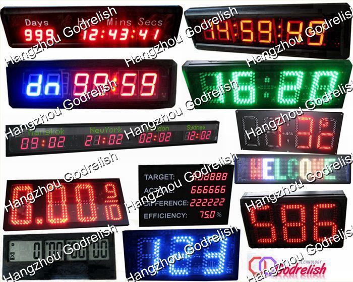 Multifunctional digital pace clock for wholesales