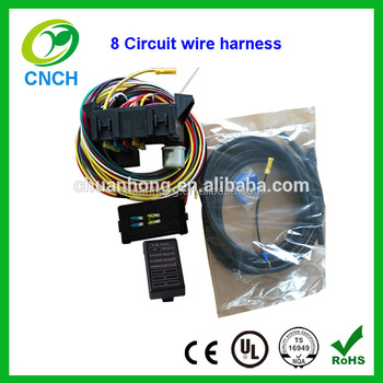8 circuit fuse wiring harness kits classic automotive auto car wire rh alibaba com