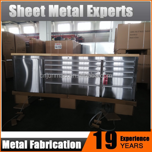 Stainless Steel Tool Cabinet Roller Trolley