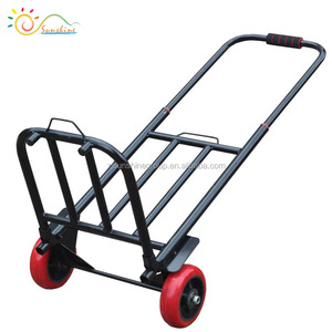 Folding shopping trolley cart alu folded hand trolley size