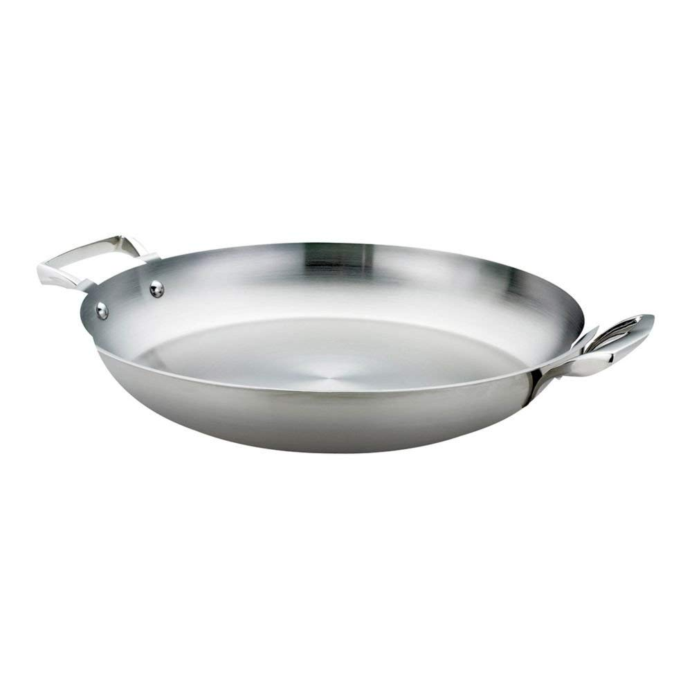 "Browne Foodservice 5724174 Thermalloy S/S 16"" Paella Pan"
