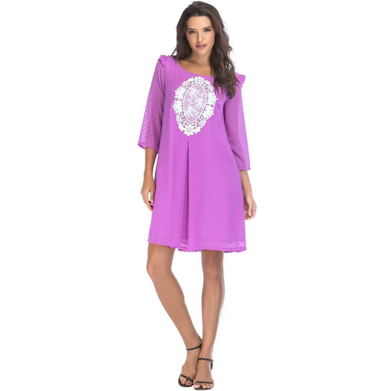 50% off classic style united states Middle-aged Old Ladies Ready Made Purple Dresses - Buy Purple Dress,Ladies  Dresses,Ready Made Dresses Product on Alibaba.com