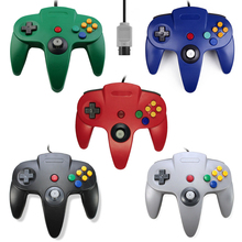 <span class=keywords><strong>N64</strong></span> Wired Game <span class=keywords><strong>Controller</strong></span> untuk Nintend <span class=keywords><strong>N64</strong></span> Joystick Handle Gamepad