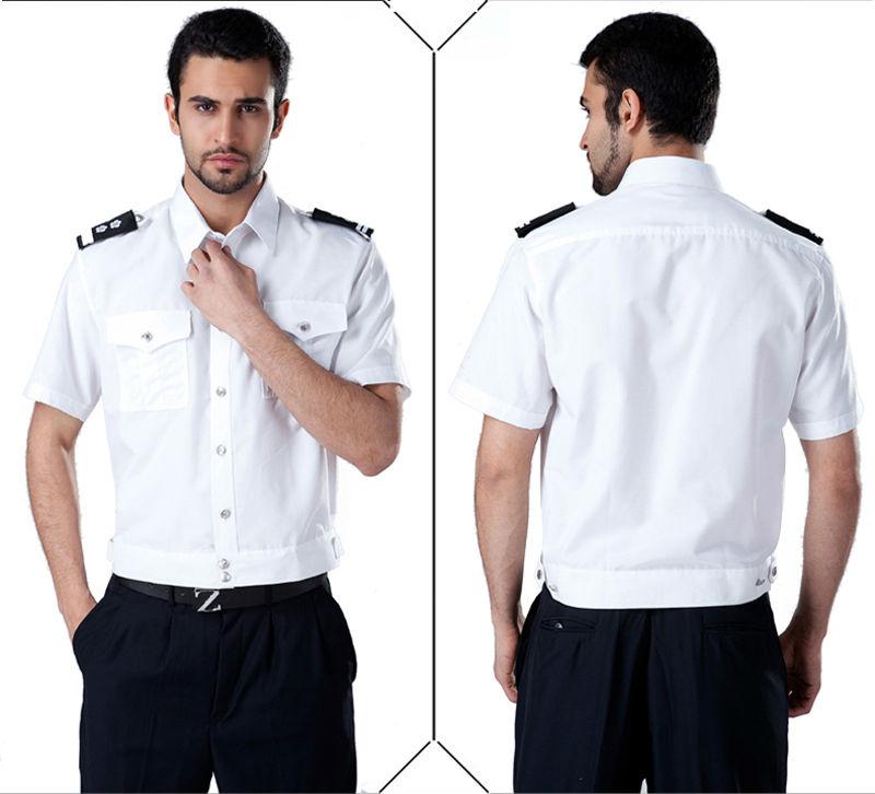 Custom Made Summer Men's Security Uniform Sesr0013 Security Shirt ...