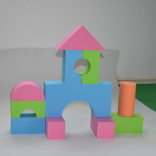 Kids DIY intelligent toys High Quality Soft Eva Foam Block