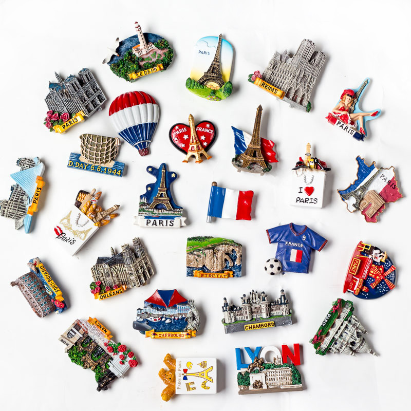 Customized UK Tourism Souvenirs London Fridge Magnet For Different Countries Factory Supply