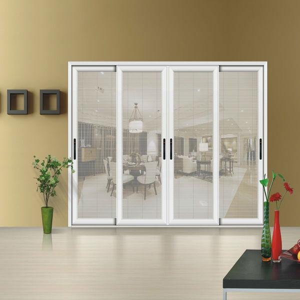 Aluminium schuifdeur ingebouwde rolluiken deur deuren product id 739753651 - Schuifdeur deur ...