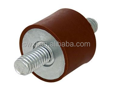 Customize Male to Male Rubber Mounts Rubber Vibration Damper for Auto / air condition