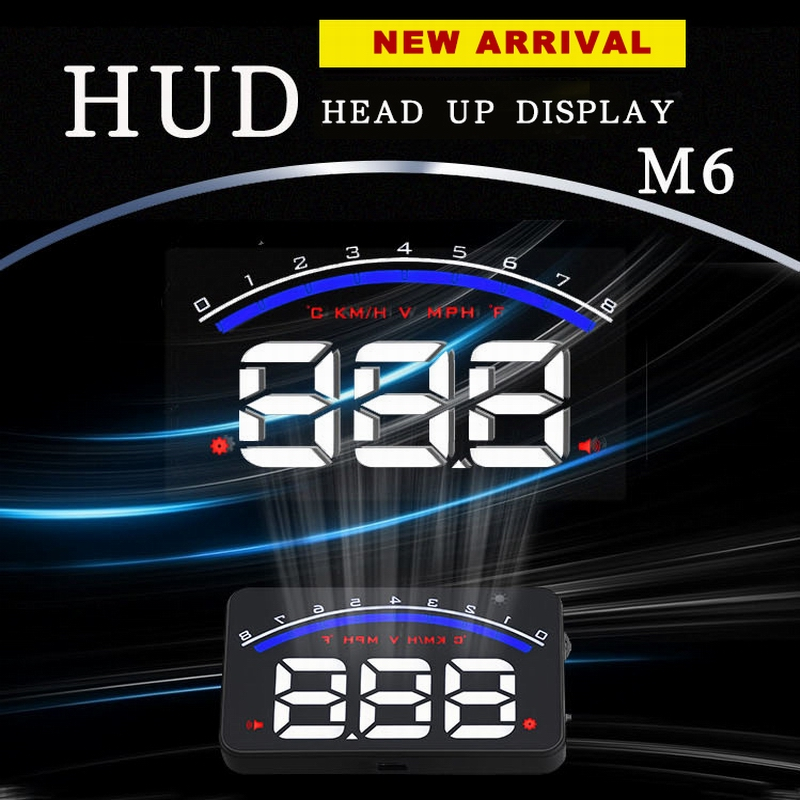 Hot Sale for United States 2017 Head Up Display Speed Display Car HUD Projector