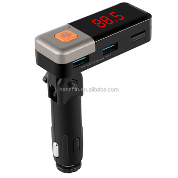 New arrival Wireless BTCar FM Transmitter MP3 Player Dual USB Car Charger BC11