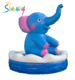 New design custom large advertising inflatable cartoon animal elephant model for sale