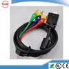 GuangDong factory VGA TO 3 RCA LEAD/CABLE FOR HD TV PC LAPTOP with CAS