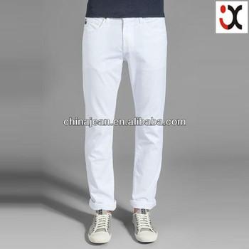 2017 Fashion Style Mens White Denim Jeans (jx3124) - Buy White ...