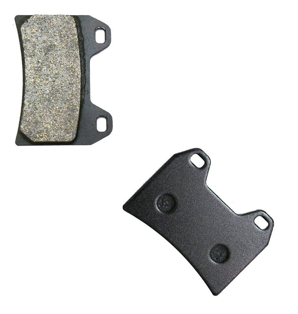 2 Pads CNBK Front Brake Shoe Pads Semi-Metallic fit for APRILIA Street Bike 50 Tuono 03 04 2003 2004 1 Pair