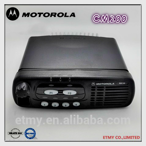 Hot Sale Motorola Cm200 Uhf Vhf Original Vhf Uhf Fm Transceiver ...