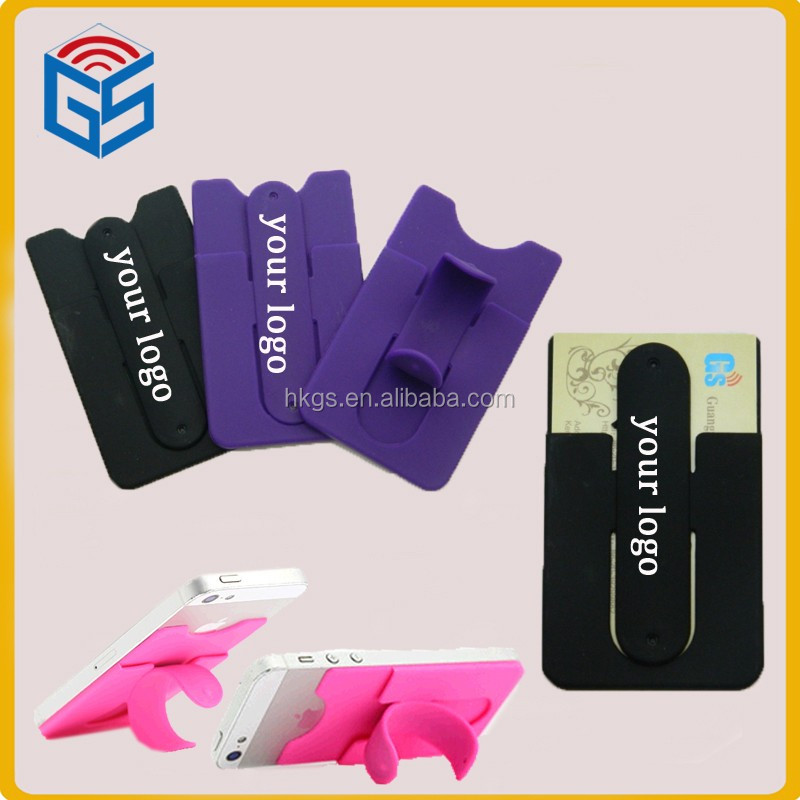 Hot Promotional Gifts Customized Logo Smart Wallet Silicone Rubber ...