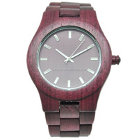 High quality and fast delivery time ,100% natural wooden watch with CUSTOM LOGO
