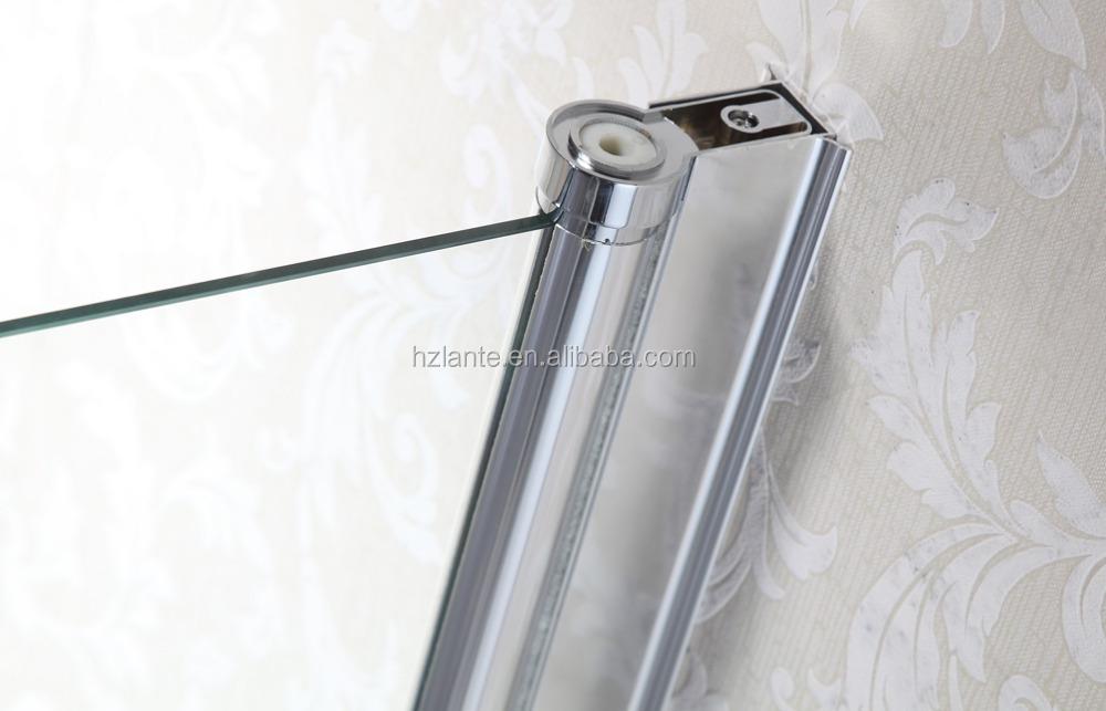 Pas cher prix facile nettoyer luxe verre portes de douche avec charni re pivo - Porte douche pas cher ...