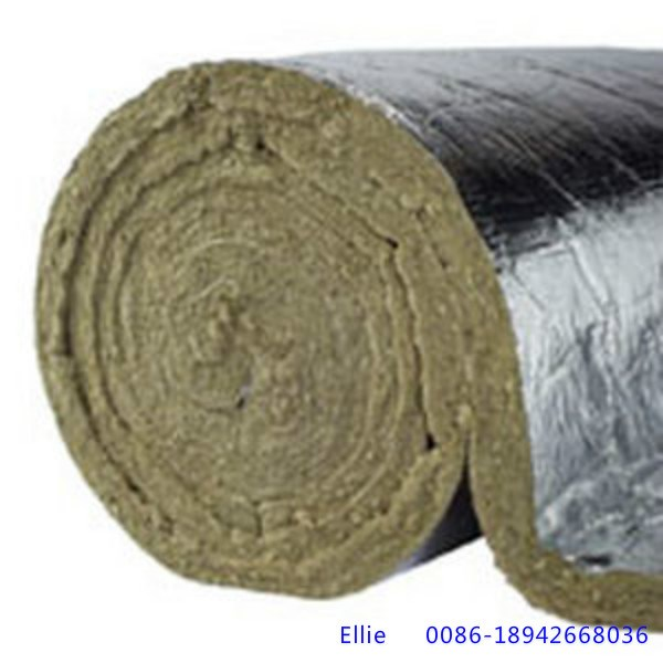 Rockwool blanket wire mesh bonded insulation for exhaust for Mineral wool density