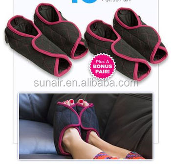 Microwave Slippers Hot And Cold Heated Foot Wraps Socks