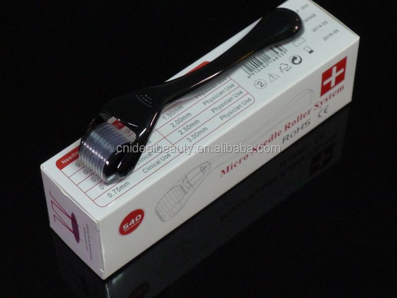 Titanium Microneedle 540 Needles Derma Roller Skin ...