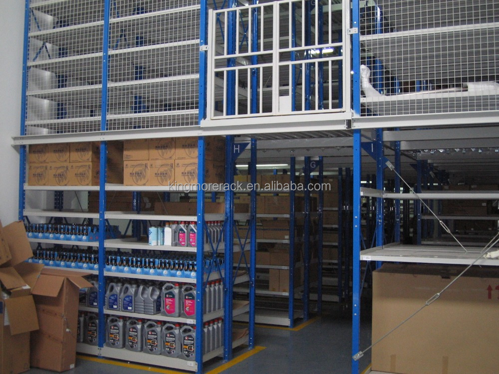 pallet rack supported steel mezzanine floor