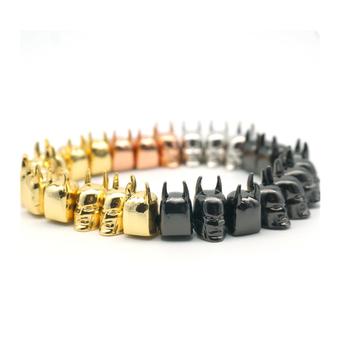 8c2ecc197f4 Fashion Design Beaded Bangle Bracelet Men Bead Gold Hand Chain - Buy ...
