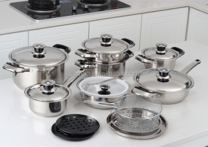 Stainless Steel Kitchen Queen Cookware Set Whole Suppliers Alibaba