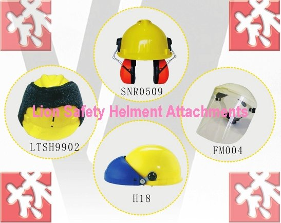 Safety Helmet Attachment