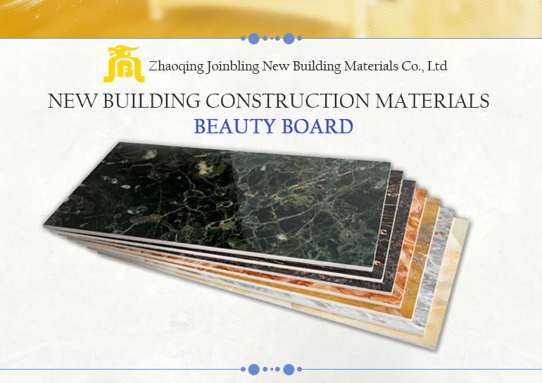 High density Marble surface Fiber cement board