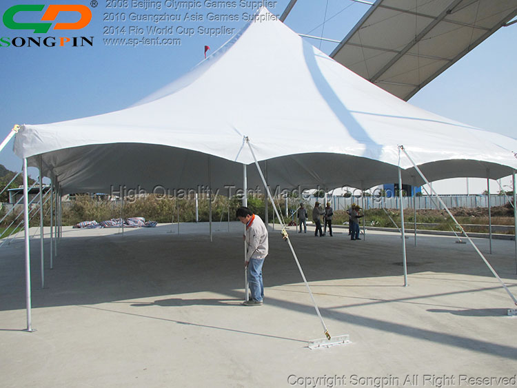 Stretch Pole Tent Five Star Luxury Hotel Tents 12x18m for 150 People & Stretch Pole Tent Five Star Luxury Hotel Tents 12x18m for 150 ...