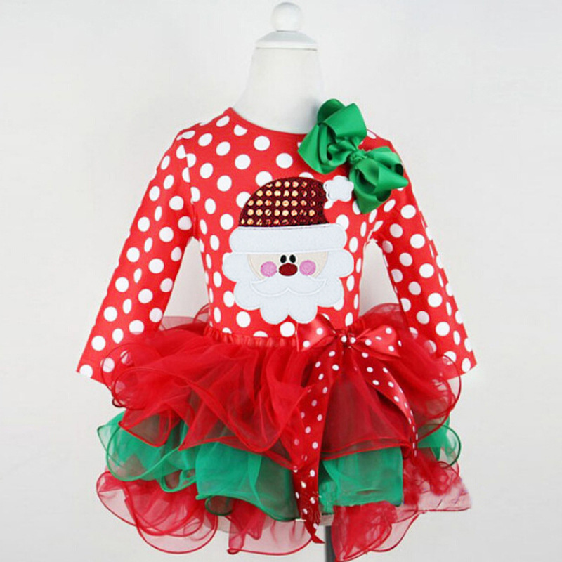 Latest Design Kids Christmas Clothes Girls Dress - Buy Kids ...