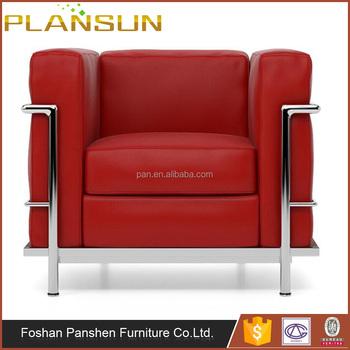 Classic Italia Design Living Room Furniture Le Corbusier Lc2 ...