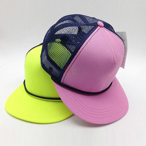 3a3a86d4407 Custom Embroidery Snapback Rope Hat