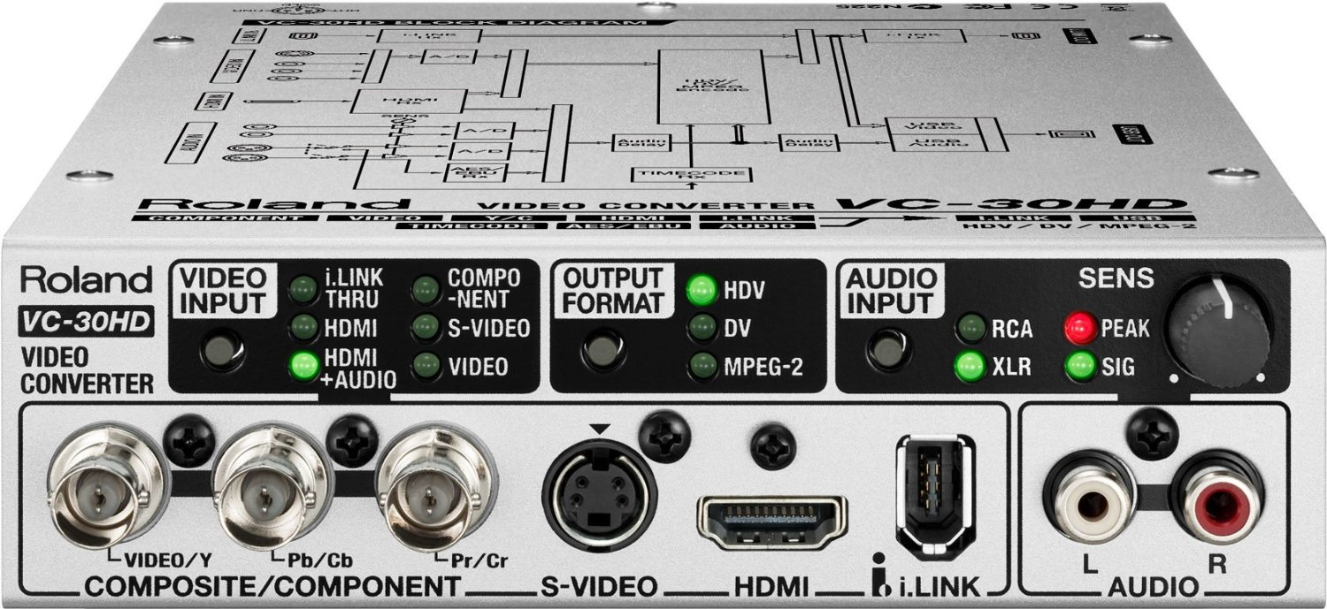 Roland Audio/Video Converter / AV Streaming Interface VC-30HD