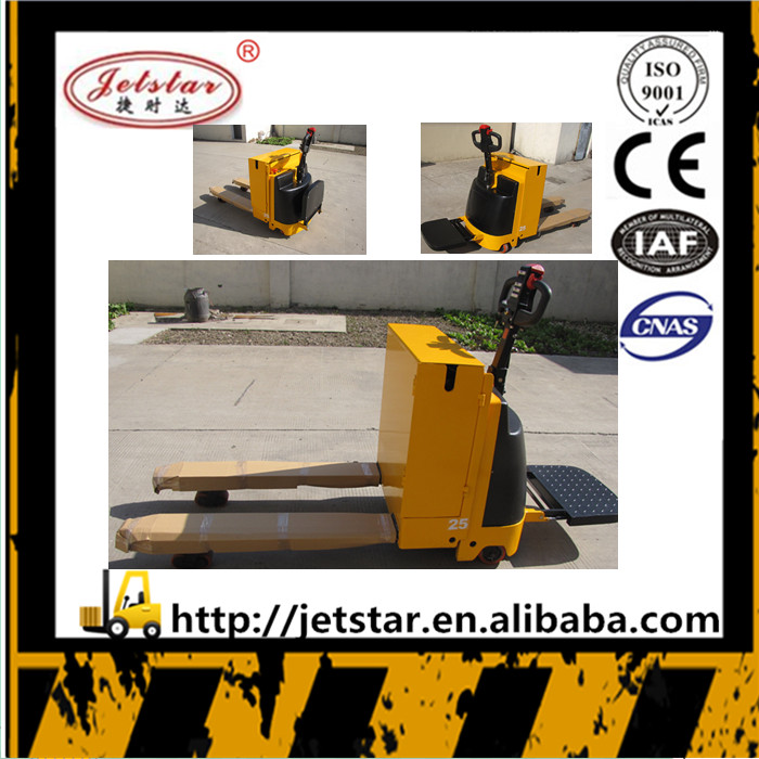 Factory warehouse 2.5 ton mini electric pallet truck