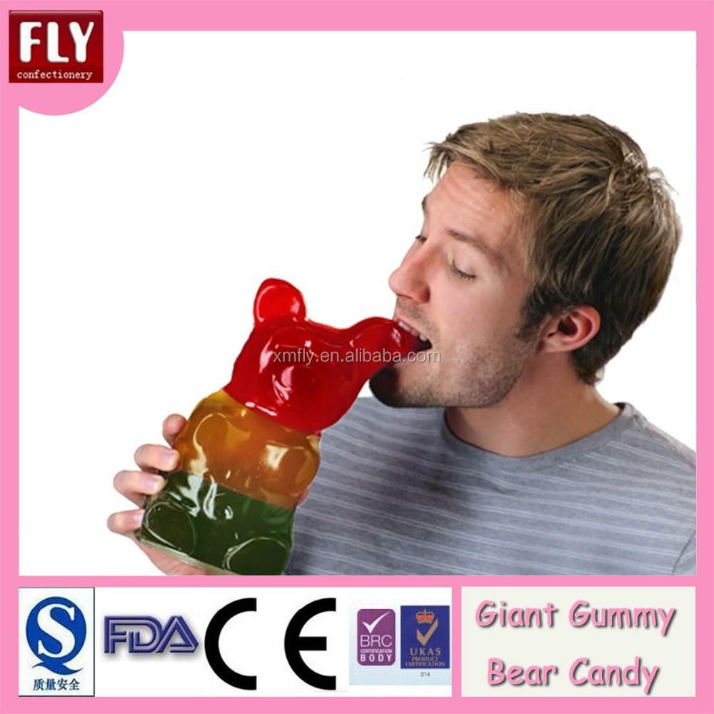 Giant gummy bear candy
