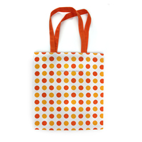 Best Price Recycle Organic Cotton Bags Customized Printed Hand Bag
