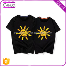 Custom Printed Love Couple T shirt You Design Wholesale From China Manufacturer