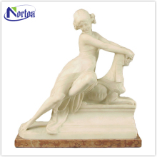 Factory supplies stone sphinx and woman sculpture NTBM-488A
