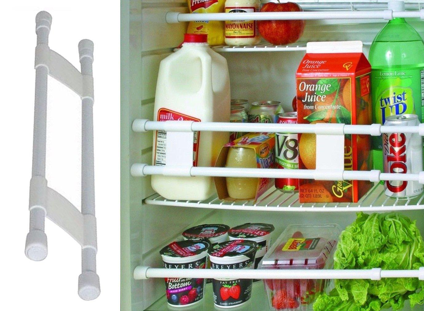 12bcbb5b8c Get Quotations · ZaZaTool Double Refrigerator Bar Cupboard Spring Loaded  Travel Trailer Camper Kitchen