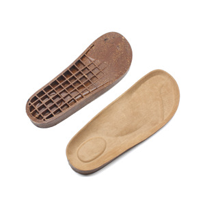 Natural sandals cork sole for shoes