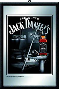 Get Quotations · Jack Daniels Logo Mirror   Pool Scene
