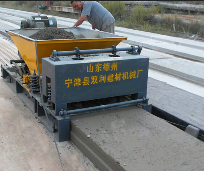 Precast Hollow Core Slab : Prefabricated hollow core floor slab making machine roof