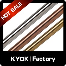 KYOK Tracks & Accessories Curtain Twisted Wrought Iron Curtain Curtain Pole