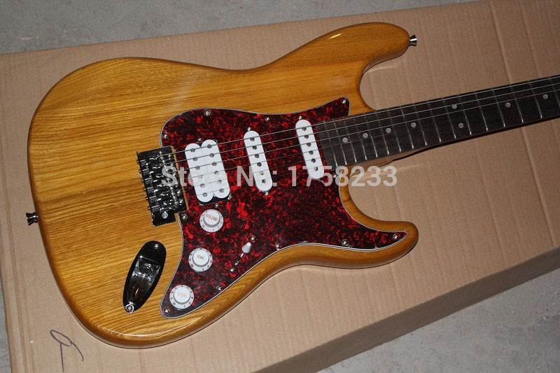 2019 free shipping 2015 high quality stratocaster 6 strings in wood color stratocaster electric. Black Bedroom Furniture Sets. Home Design Ideas