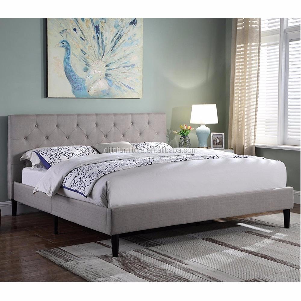 King Platform Bed With Headboard, King Platform Bed With Headboard ...